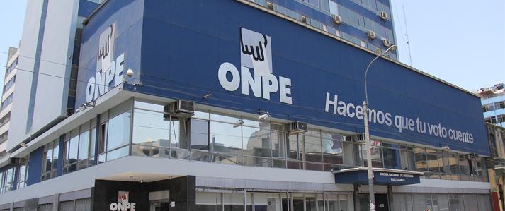 ONPE considera necesario crear mecanismo que permita verificar antecedentes de financistas de campañas