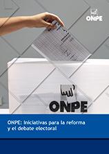 ONPE: iniciativas para la reforma y el debate electoral